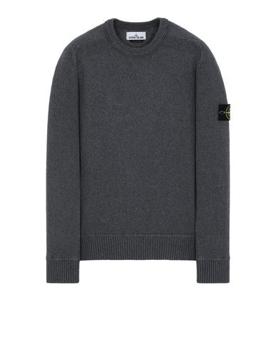 STONE ISLAND 541A2 Sweater Man Steel Grey EUR 230