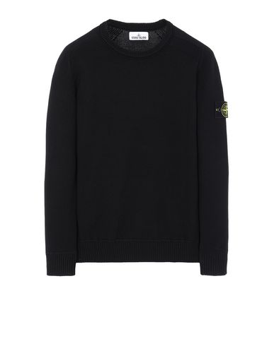 STONE ISLAND 541A2 Sweater Man Black USD 219
