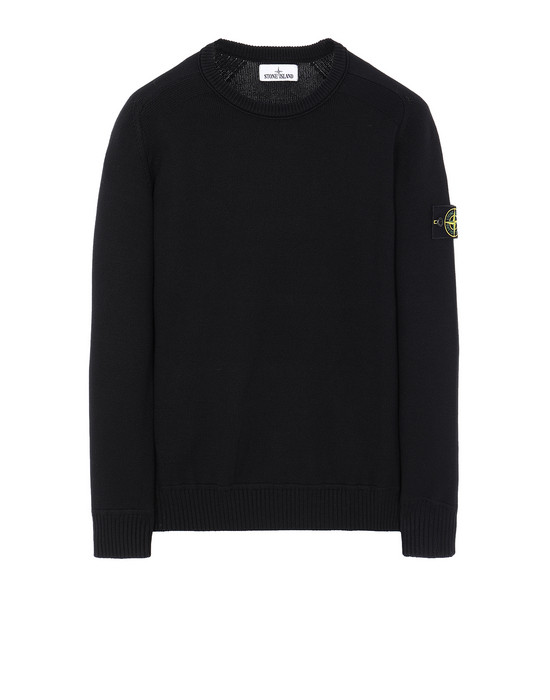 STONE ISLAND 541A2 Sweater Man Black