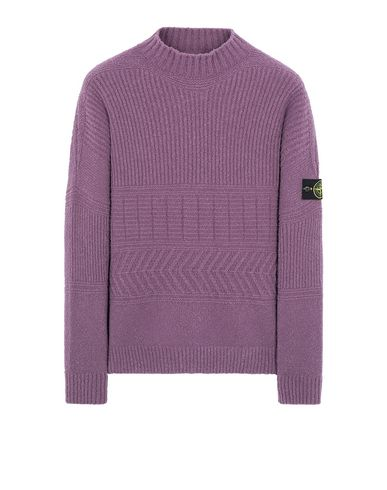 STONE ISLAND 504B3 Sweater Man Magenta USD 528