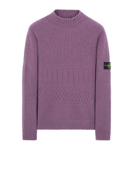 STONE ISLAND 504B3 Sweater Herr Magenta