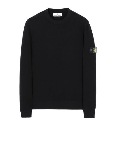 STONE ISLAND 591A1 Sweater Man Black EUR 237