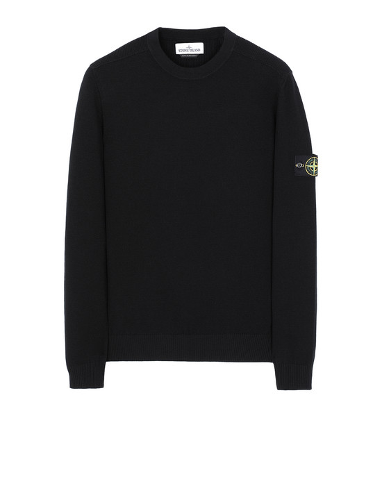STONE ISLAND 591A1 Tricot Homme Noir