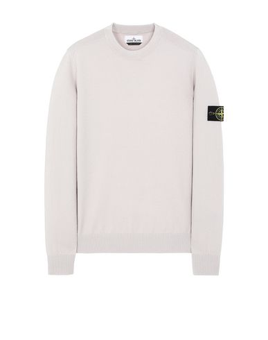STONE ISLAND 591A1 Sweater Man Dove Gray EUR 203