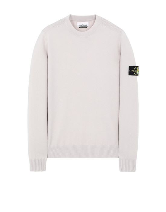 STONE ISLAND 591A1 Sweater Man Dove Grey