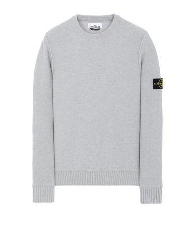 STONE ISLAND 577B6 Sweater Man Pearl Grey EUR 319