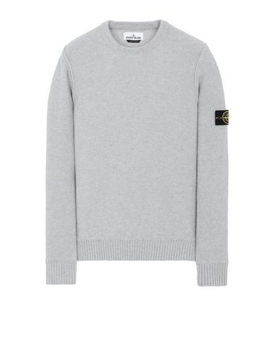 STONE ISLAND 577B6 Sweater Man Pearl Gray USD 320
