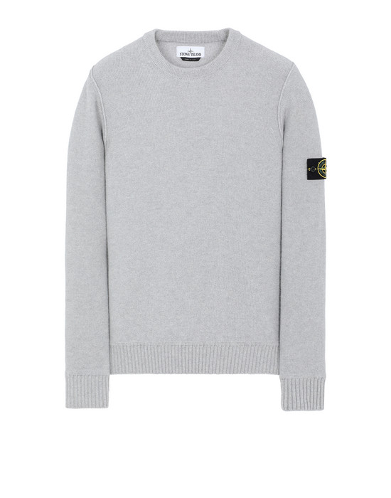 Sold out - STONE ISLAND 577B6 Sweater Man Pearl Gray