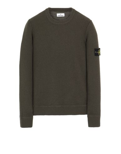 STONE ISLAND 577B6 Sweater Man Musk Green EUR 330