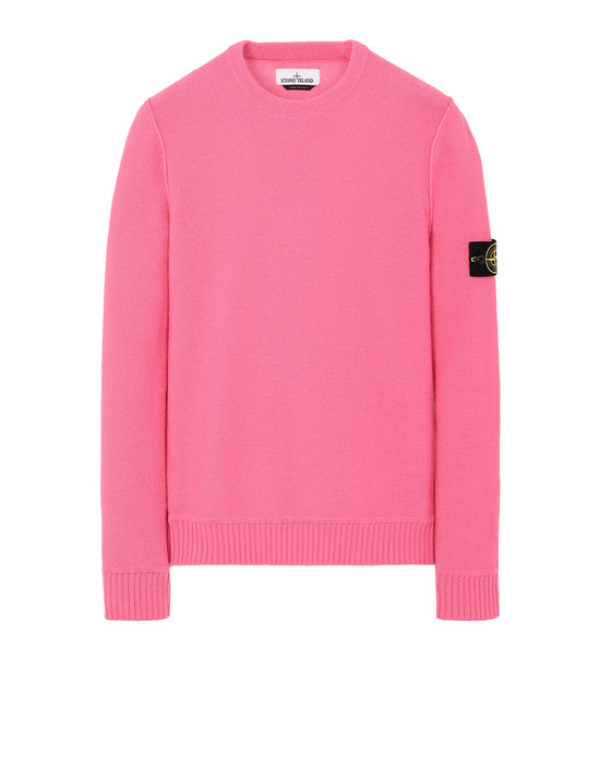 STONE ISLAND 577B6 Sweater Man Cyclamen