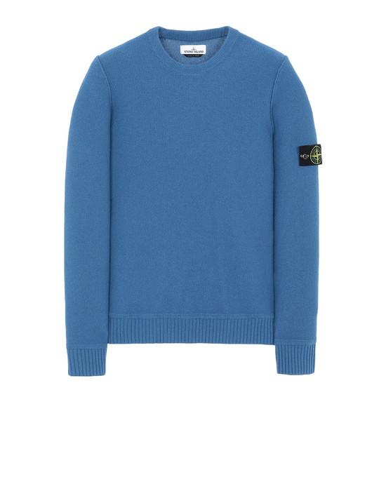 STONE ISLAND 577B6 Sweater Man Periwinkle