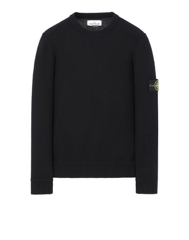 STONE ISLAND 577B6 Sweater Man Black USD 236