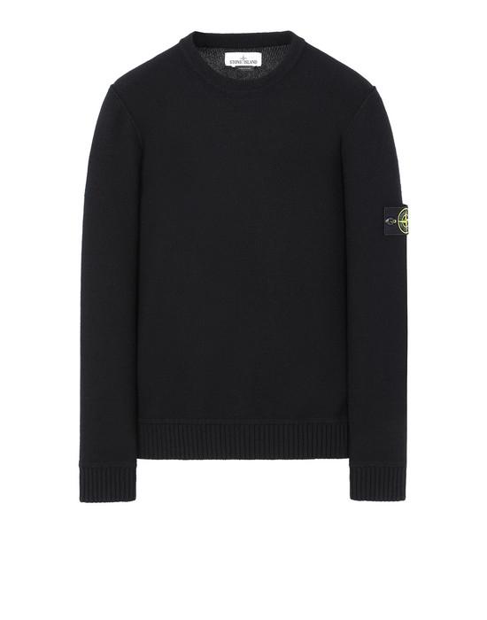 STONE ISLAND 577B6 Sweater Man Black