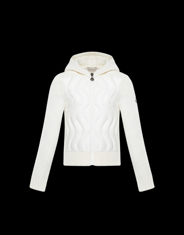 HOODED CARDIGAN Ivory Teen 12-14 years - Girl Woman