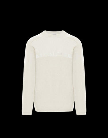 CREWNECK Ivory Category Crewnecks Man