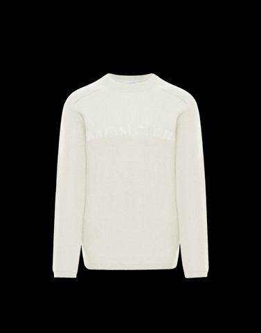 CREWNECK Ivory Knitwear & Sweatshirts Man