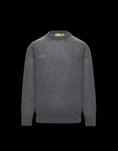CREWNECK Grey Knitwear & Sweatshirts Man