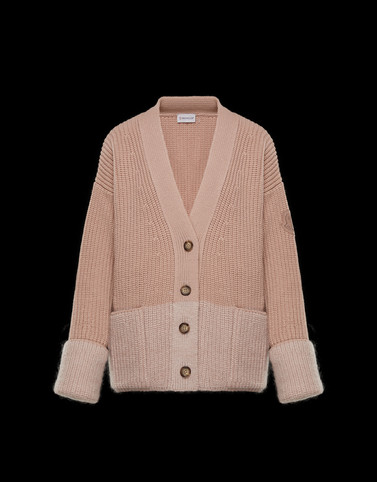 CARDIGAN Pink Knitwear Woman