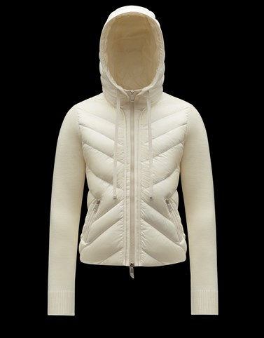 PADDED CARDIGAN Ivory New in Woman