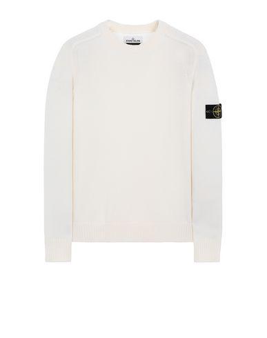 STONE ISLAND 552A3 Sweater Man Natural White EUR 179