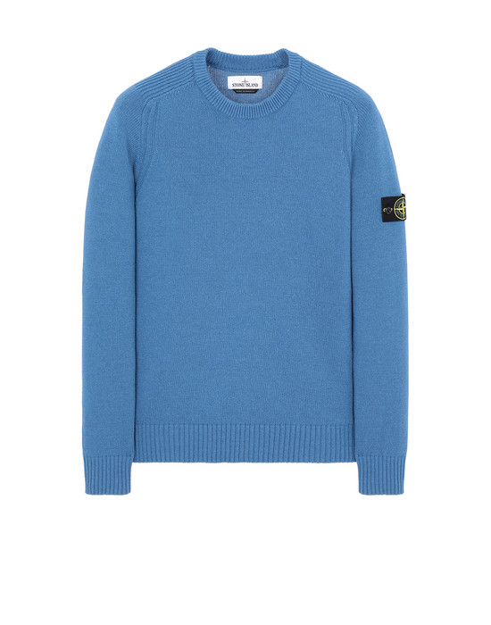 Sold out - STONE ISLAND 552A3 Sweater Man Periwinkle