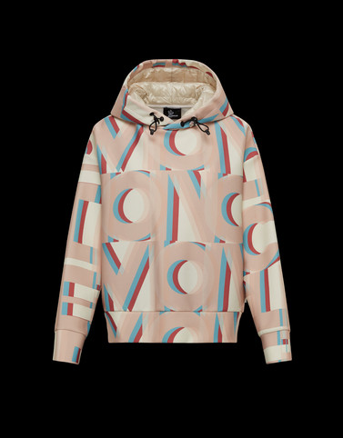 HOODED SWEATSHIRT Beige Category HOODED SWEATSHIRTS Woman