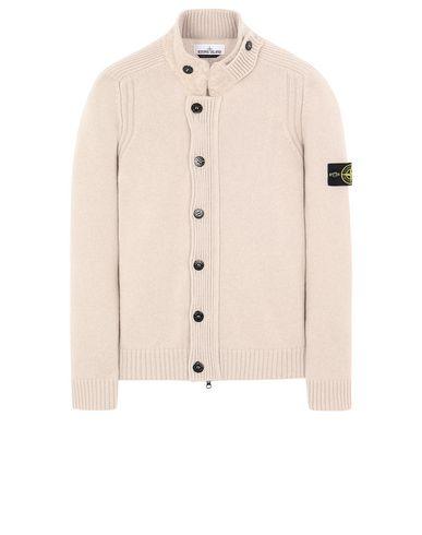 STONE ISLAND 564A3 Sweater Man Dove Grey EUR 251