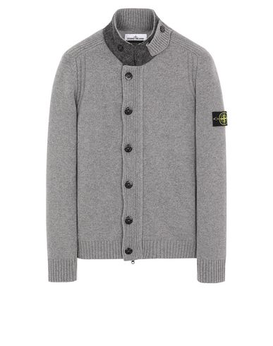 STONE ISLAND 564A3 Sweater Man Gray USD 362