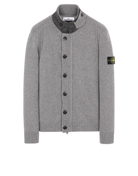 STONE ISLAND 564A3 Sweater Man Grey