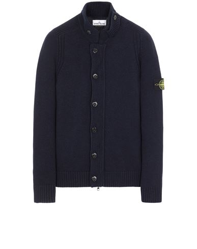 STONE ISLAND 564A3 Sweater Man Blue EUR 359