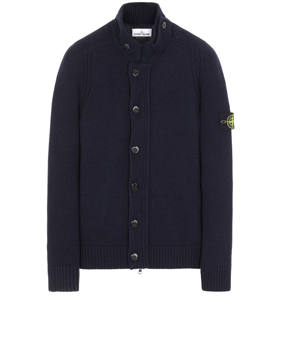 STONE ISLAND 564A3 Sweater Man Blue