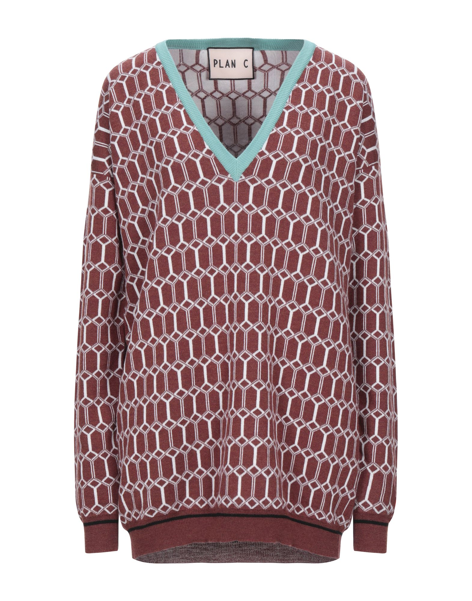 PLAN C Свитер ten c свитер
