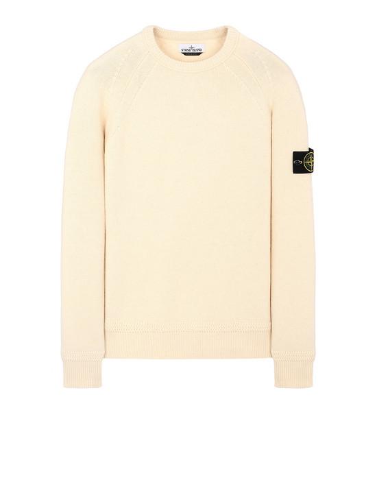STONE ISLAND 586A7  Sweater Man Butter