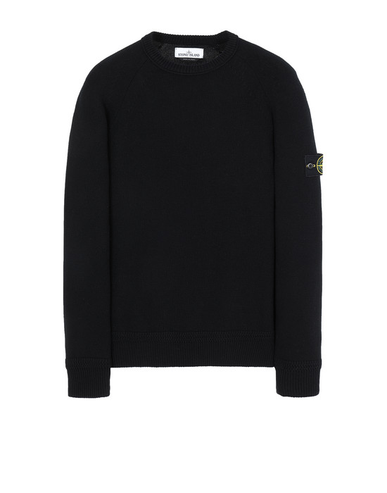 STONE ISLAND 586A7  Sweater Man Black