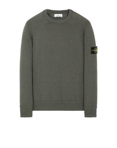 STONE ISLAND 586A7  Sweater Man Musk Green USD 188