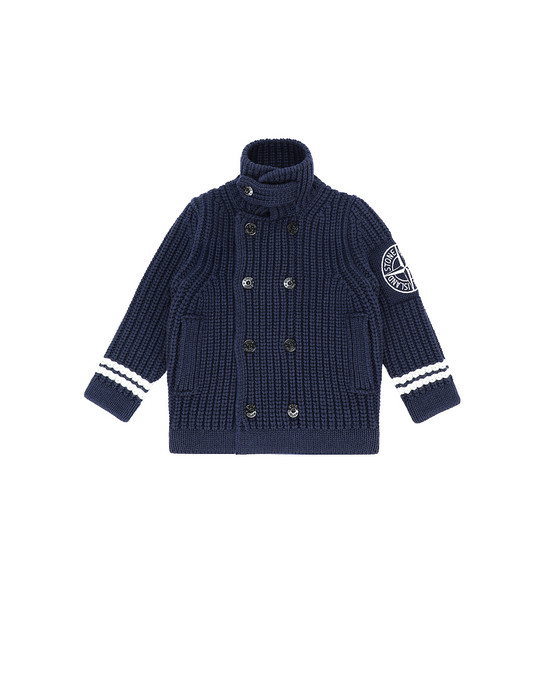 STONE ISLAND JUNIOR 517D1 Sweater Herr Blau