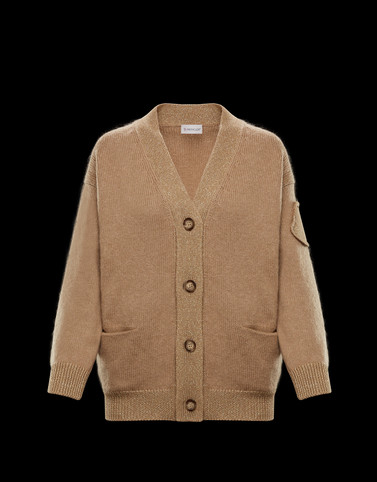 CARDIGAN Camel Category Cardigans Woman