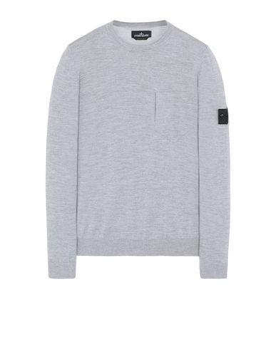 STONE ISLAND SHADOW PROJECT 505A4 CATCH POCKET CREWNECK Sweater Man Gray USD 262