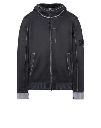 STONE ISLAND SHADOW PROJECT 508A6 INSULATED KNIT JACKET  Sweater Herr Grau EUR 1135