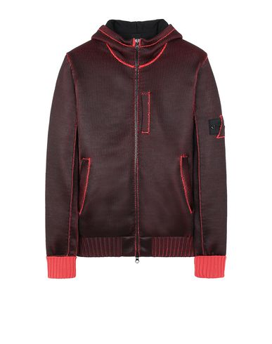 STONE ISLAND SHADOW PROJECT 508A6 INSULATED KNIT JACKET  Sweater Man Red USD 796