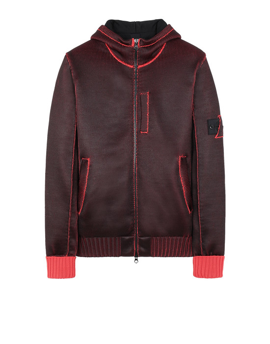 STONE ISLAND SHADOW PROJECT 508A6 INSULATED KNIT JACKET  Sweater Man Red