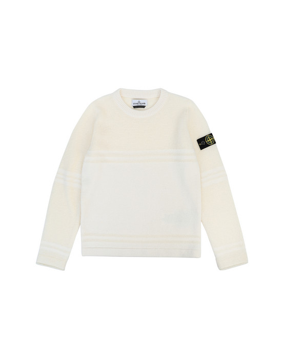 Sweater Man 512A5 Front STONE ISLAND JUNIOR