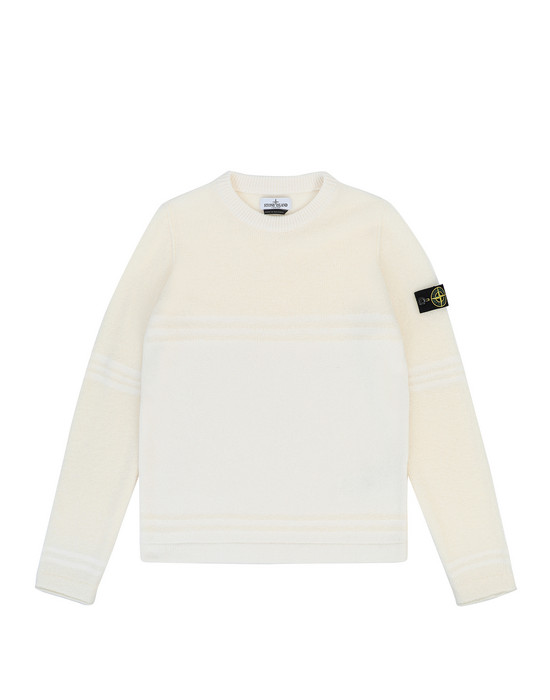 Sweater Man 512A5 Front STONE ISLAND TEEN