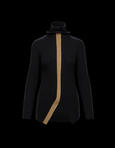 HIGH NECK Black 2 Moncler 1952 Woman