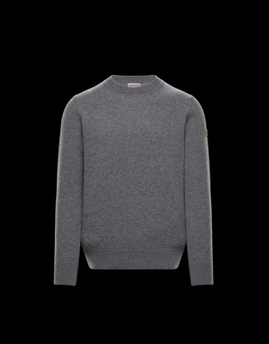 CREWNECK Dark grey Category Crewnecks Man