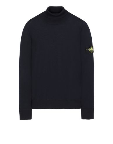 STONE ISLAND 528C4 Sweater Man Blue EUR 197