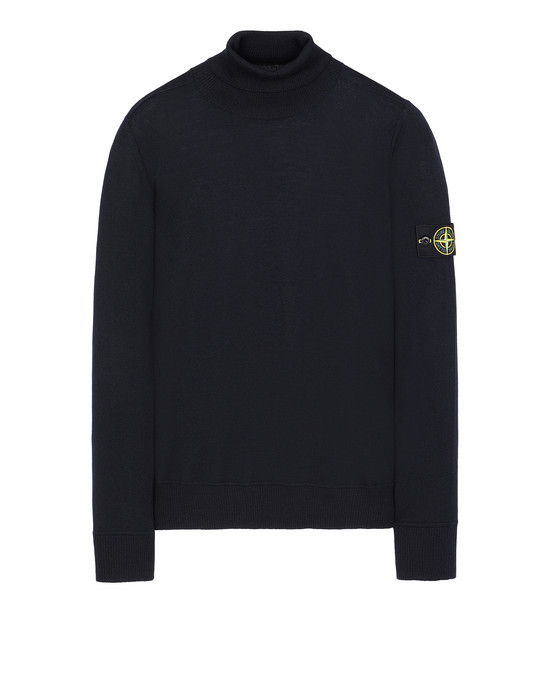 STONE ISLAND 528C4 Sweater Man Blue