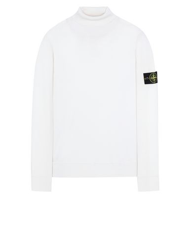 STONE ISLAND 528C4 Sweater Man Natural White EUR 181