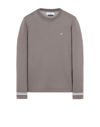 STONE ISLAND 544C4 Sweater Man Mud EUR 179