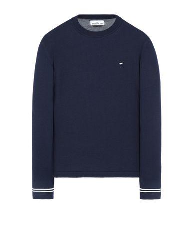 STONE ISLAND 544C4 Sweater Man Marine Blue EUR 179